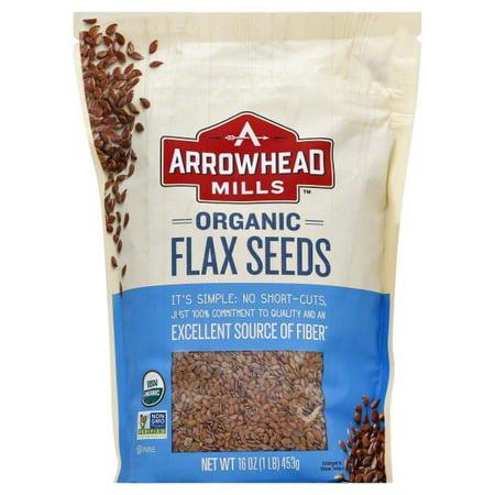 Hain Celestial Group Arrowhead Mills Flax Seeds, 16 oz