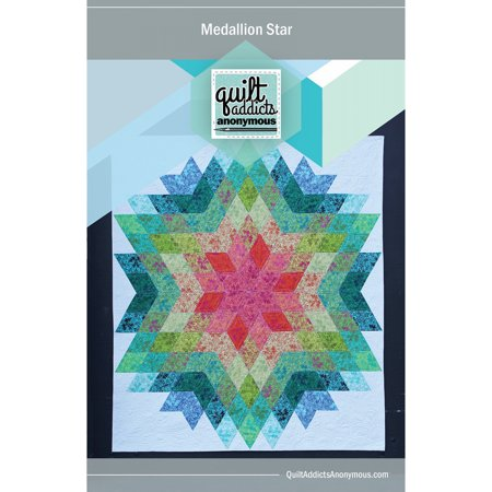 Medallion Star Quilt Pattern by Quilt Addicts (Pumpkin Quilt Pattern)