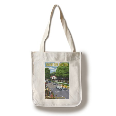 Watkins Glen State Park, New York - Grand Prix Starting Line - Lantern Press Poster (100% Cotton Tote Bag - (Best Way To Start A Clothing Line)