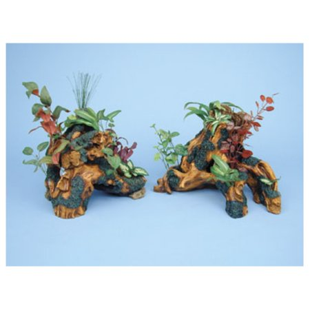 Penn Plax Tropics Driftwood Gardens Tree Trunks Aquarium Ornament