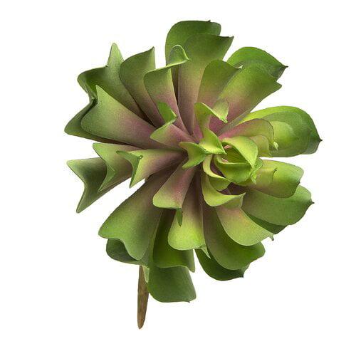 Bungalow Rose Faux Lotus Rosette Succulent Plant