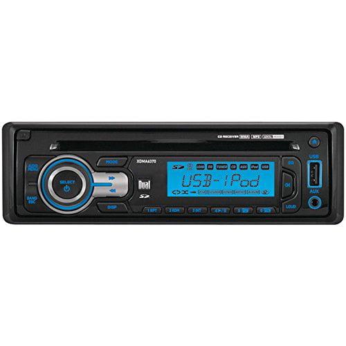 Dual XDMA6370 240-Watt AM/FM/MP3/iPod Detachable Receiver