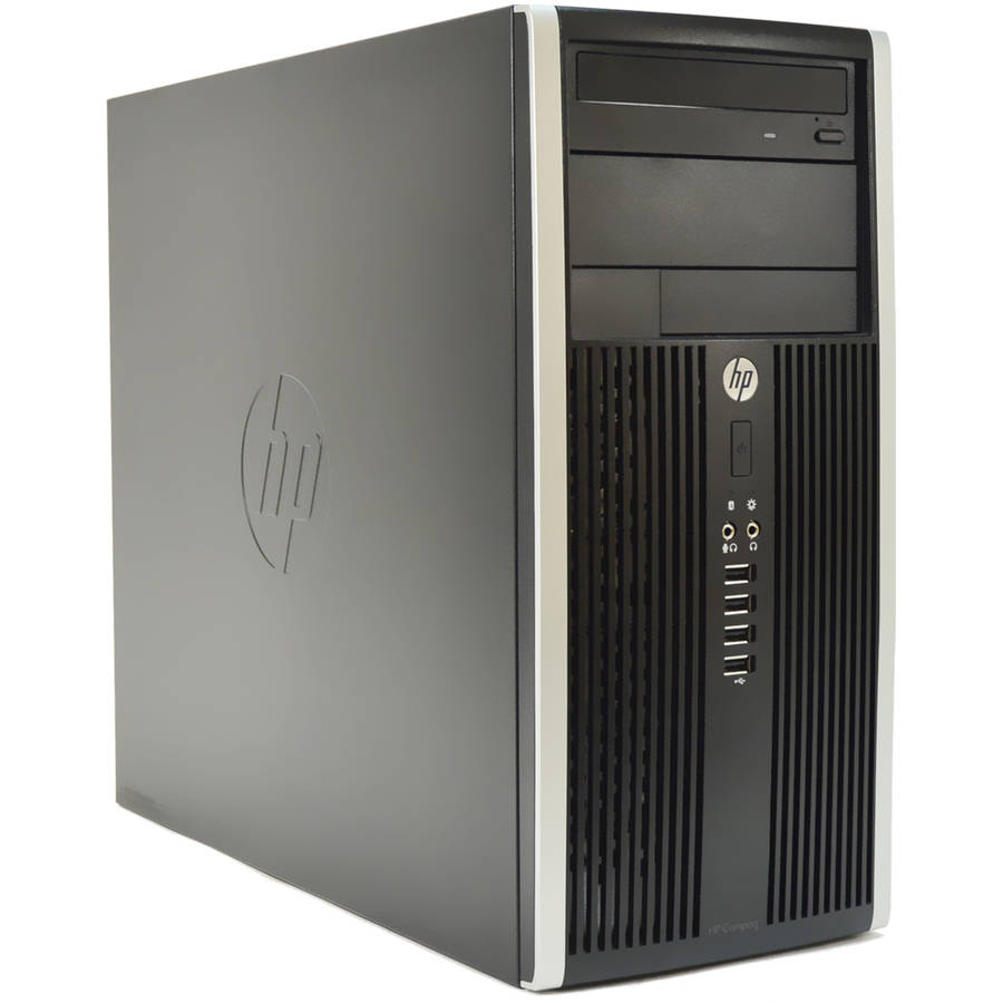 Refurbished HP Compaq 6200-T WA2-0287 Desktop PC with Intel Core i7-2600S Processor, 8GB Memory, 1TB Hard Drive and Windows 10 Pro (Monitor Not Included)