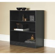 "Mainstays Orion 32"" 3-Shelf Wide Bookcase, Multiple Finishes"