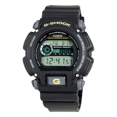 DW9052-1B G-shock 200-meter Water-resistant El-backlit With (Best G Shock Mudmaster)