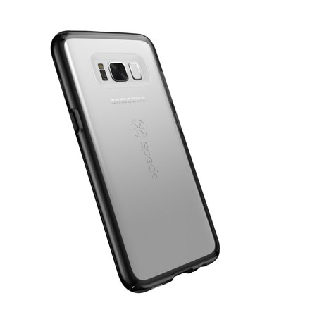 Speck GemShell Case for Galaxy S8, Clear and Black