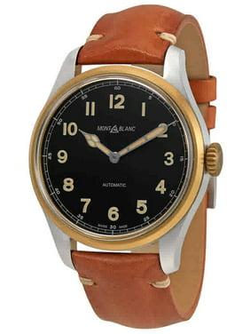 Montblanc 1858 Black Dial Automatic Men's Watch 116241