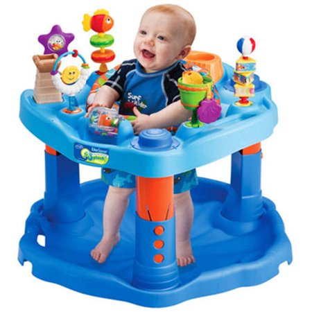 Springtime Activity - Evenflo ExerSaucer Activity Center, Mega Splash