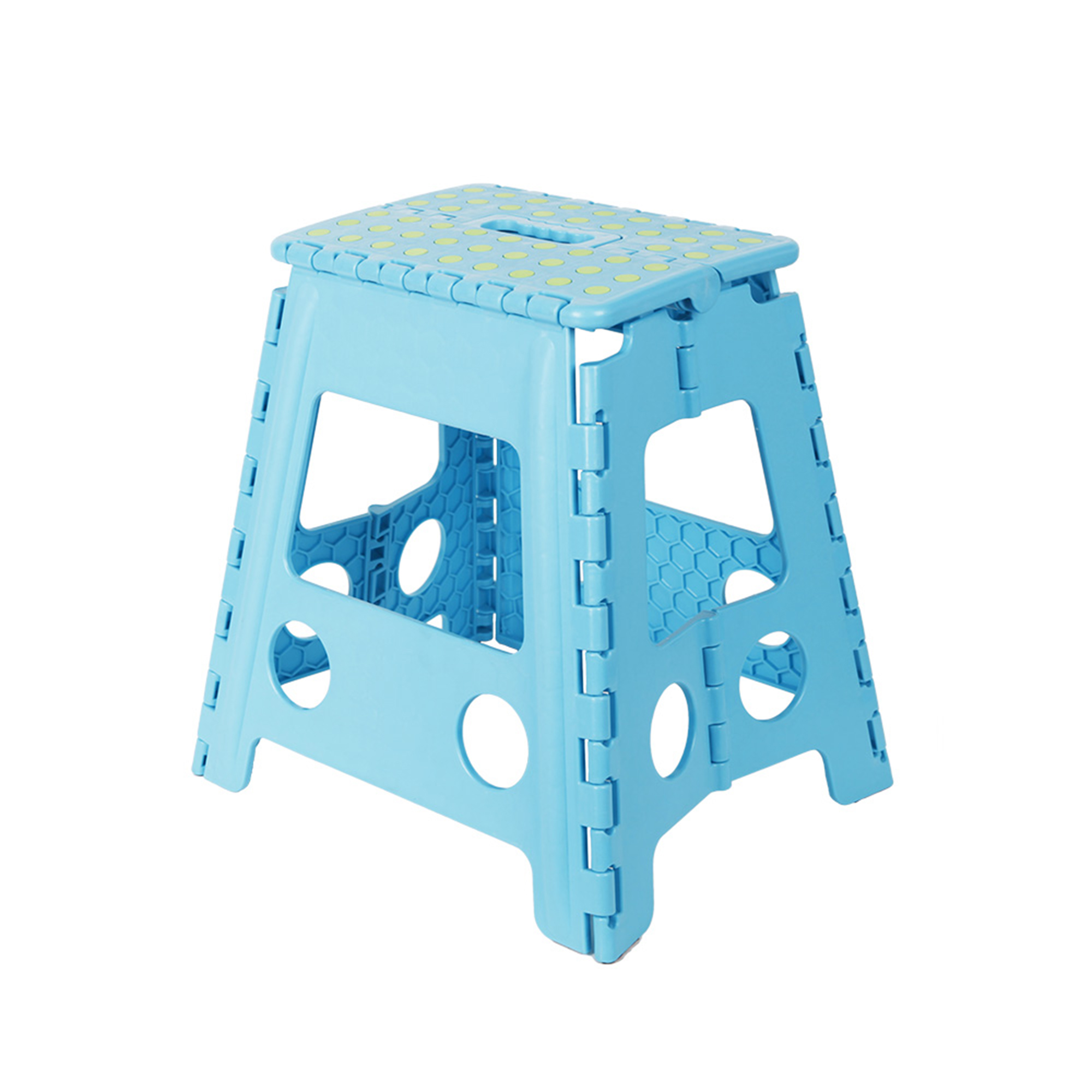 """KARMAS PRODUCT 15"""" Folding Step Stool with Handle for Adult and Kids,Kitchen Garden Bathroom Tall Stepping Stools"""