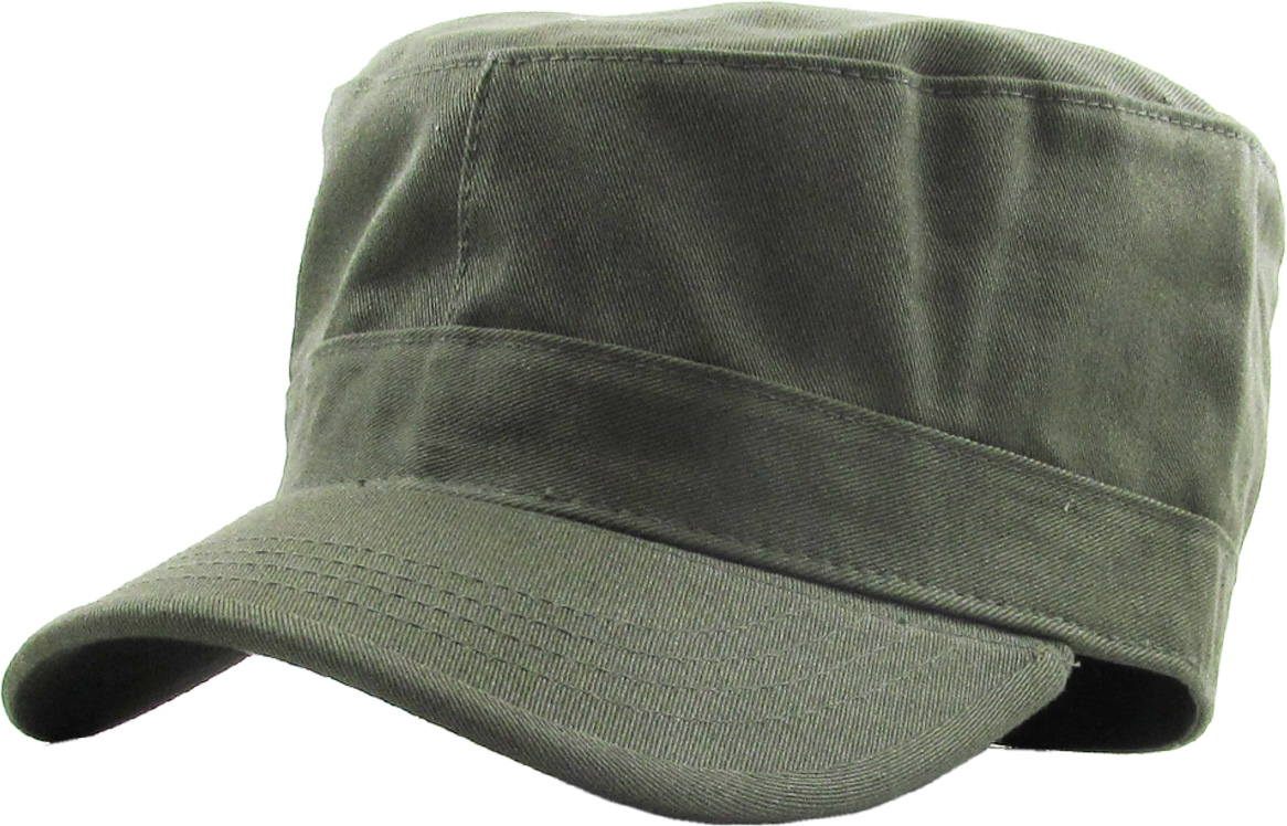 RapDom French Round Bill Mens Cadet Cap