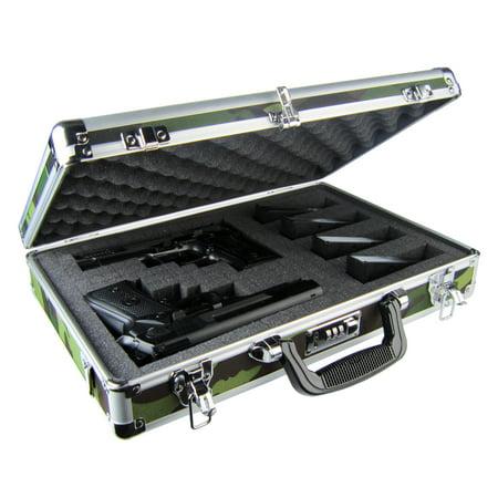 Concealer - Premium Camo Aluminum Double/Triple Pistol Case