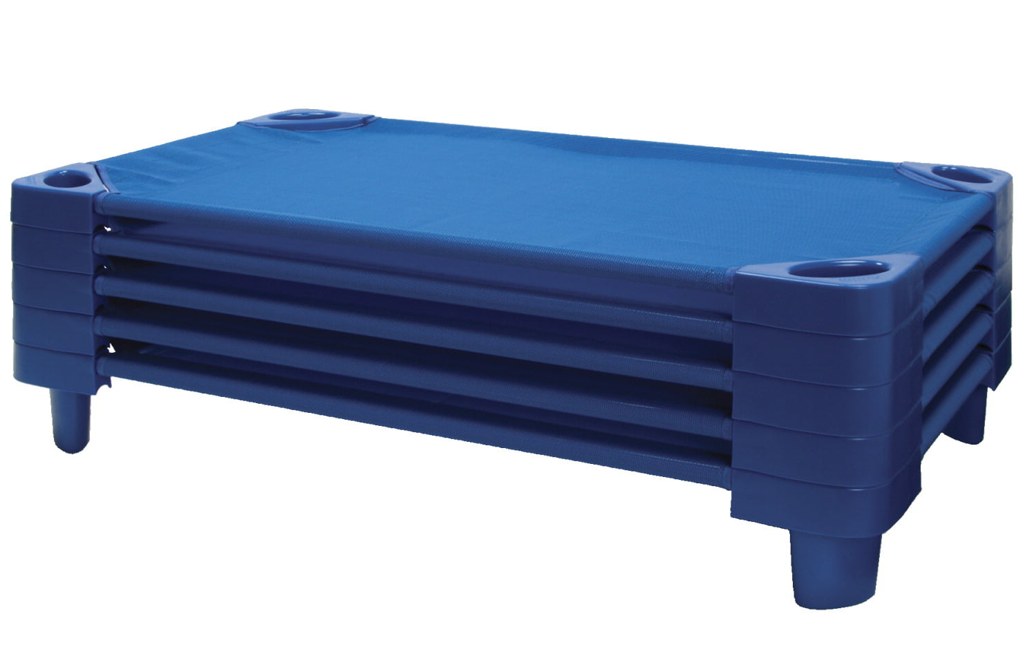 Click here to buy ECR4KIDS Toddler Stackable Kiddie Cot, 40 x 23 x 6 in, Set of 5 by ECR4KIDS LP.