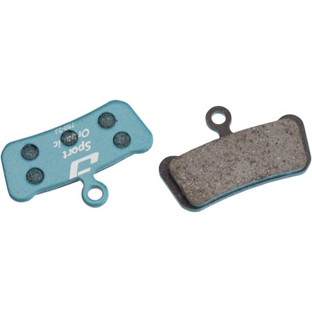 Jagwire Sport Organic Disc Brake Pads for SRAM Guide RSC, RS, R, Avid Trail ()