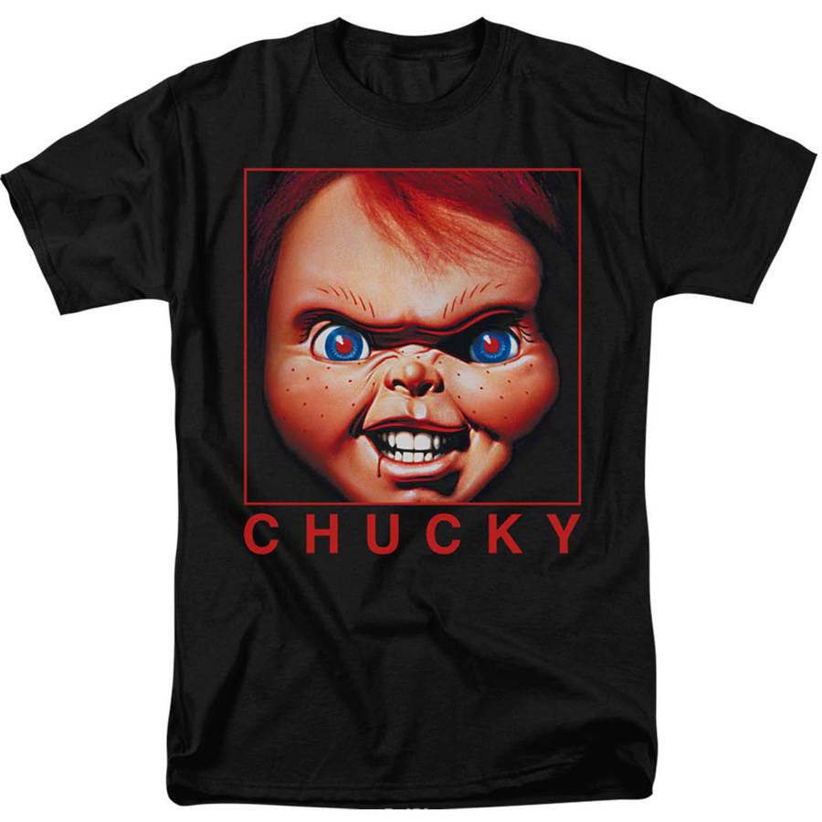 Chucky Big Men's Graphic Tee, 2XL