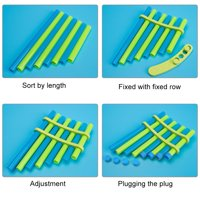 LYUMO DIY Panflute Children Handmade Music Toy Pan Flute Musical Instruments for Kids & Student,Toy Pan Flute, DIY Pan Flute Panpipe