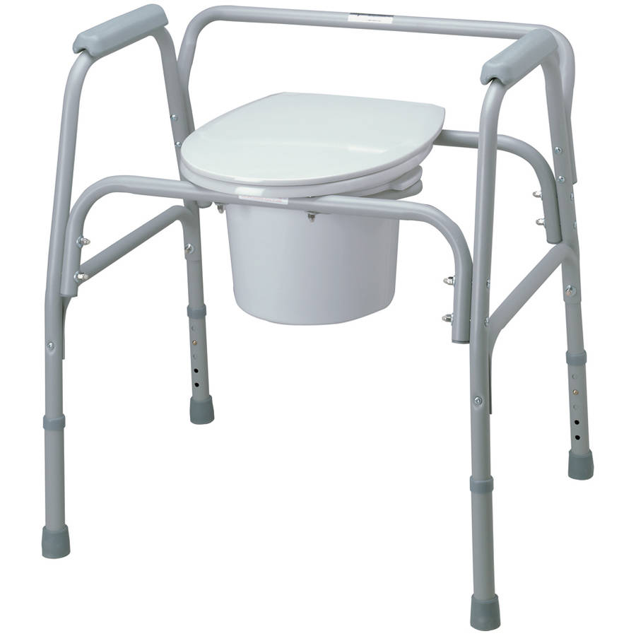 Medline Bariatric Commode Seat And Lid