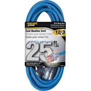 PowerZone ORCW511825 Extension Cord, Outdoor, Cold Weather, 15A/125V/1875W