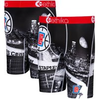 LA Clippers Ethika for Fanatics Youth DNA Boxer Briefs - Black