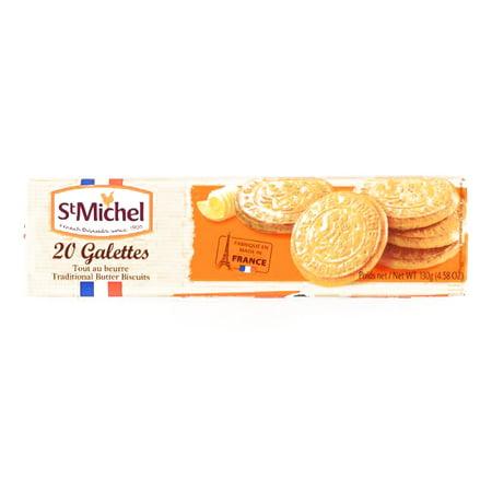 St. Michel La Grande Galette Butter Cookies 4.58 oz each (3 Items Per Order, not per case) - Order Halloween Cookies