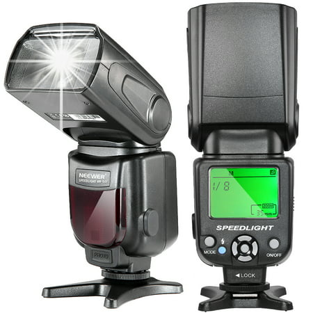 Neewer NW-561 Speedlite Flash with LCD Display for Canon &