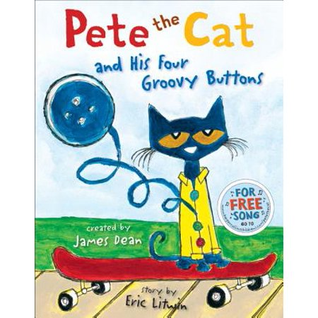 Pete the Cat and His Four Groovy Buttons - eBook