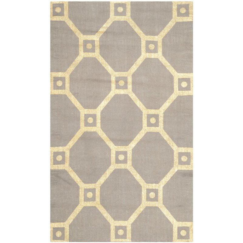 "Safavieh Cedar Brook 7'3"" X 9'3"" Handmade Jute Rug in Gray and Gold - image 8 of 8"