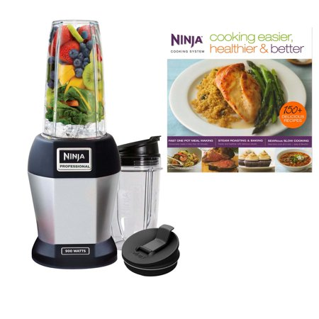 Nutri Ninja Pro 900W Professional Blender w/ Cookbook (Certified Refurbished)