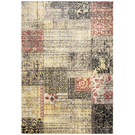 Power Loomed Polypropylene Rug (Rizzy Home BS3947 Bayside Power Loomed Polypropylene Rug)