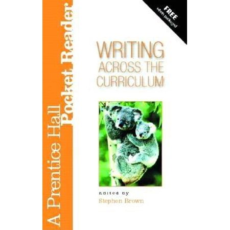 Writing Across the Curriculum : A Prentice Hall Pocket (Prentice Hall Chemistry The Study Of Matter)