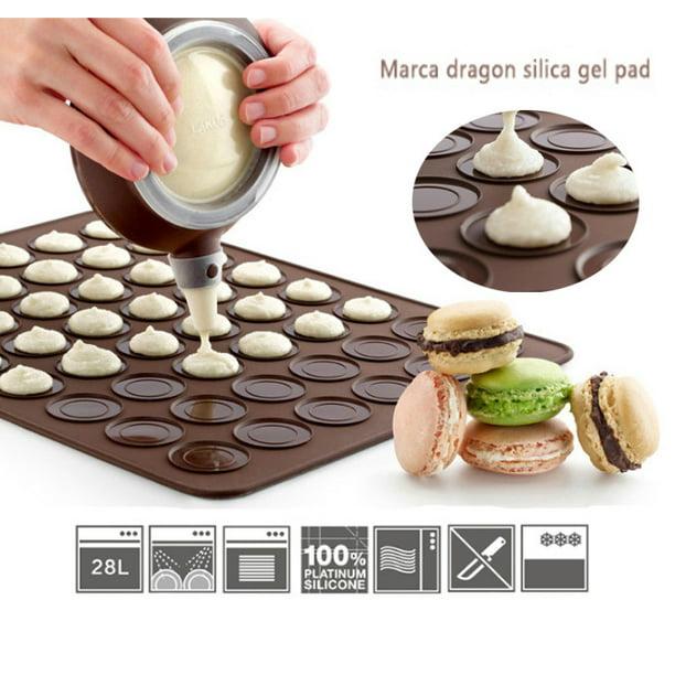 Silicone Macaron Macaroon Baking Sheet Mat Muffin Diy Chocolate Cookie Mould Mode 30 Capacity Walmart Com Walmart Com