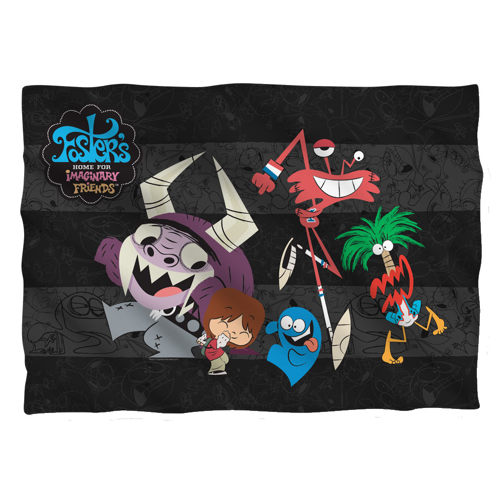 Fosters Home For Imaginary Friends Cn Tv Series Friends Pillow Case
