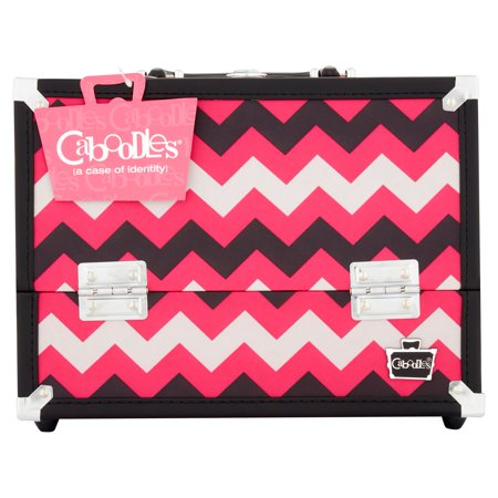 Caboodles Inspired 11 25  Ultimate Train Case Cosmetic Bag
