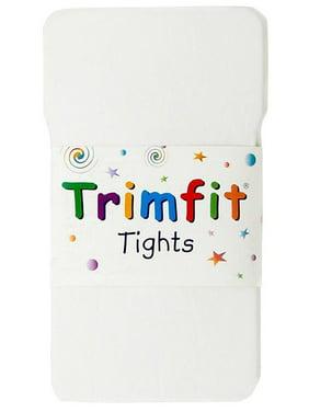 Trimfit Hosiery Girls 2-16 Lycra Tights - 2 Pack