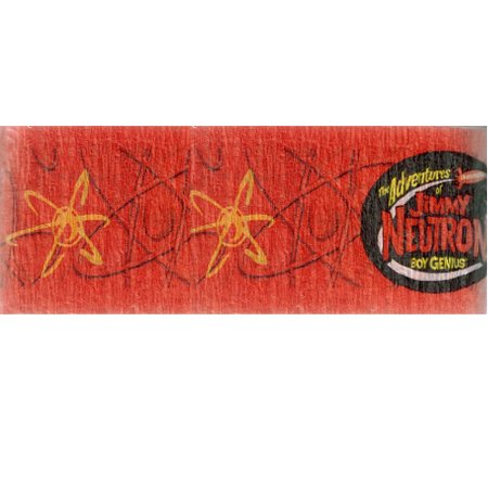 Jimmy Neutron Crepe Paper Streamer (30ft) - Jimmy Neutron Party