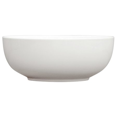 Porcelain Footed Bowl - Better Homes & Gardens Round Bowl, White Porcelain