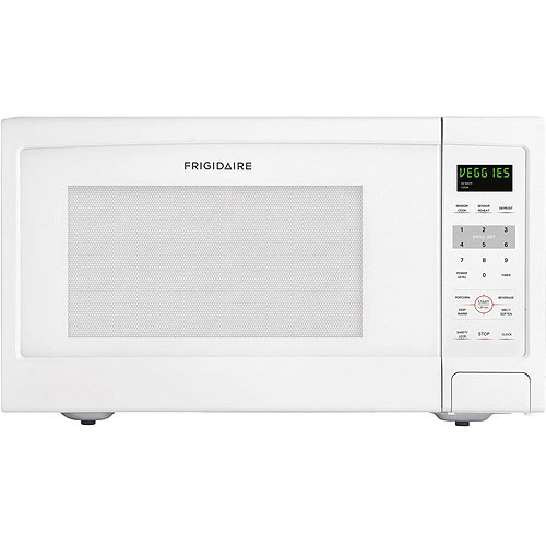 Frigidaire 1.6 Cu Ft 1100W Countertop Microwave Oven, White