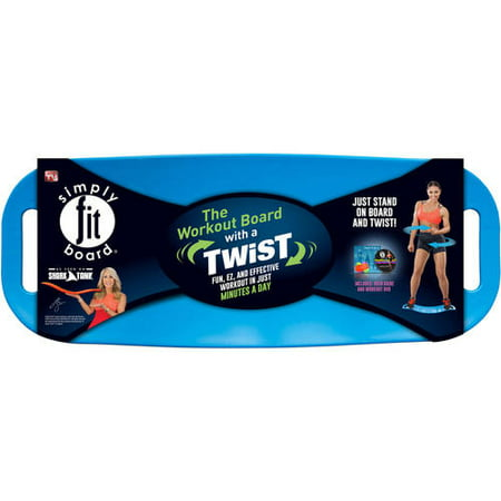 Simply Fit Balance Board, As Seen on TV, Blue