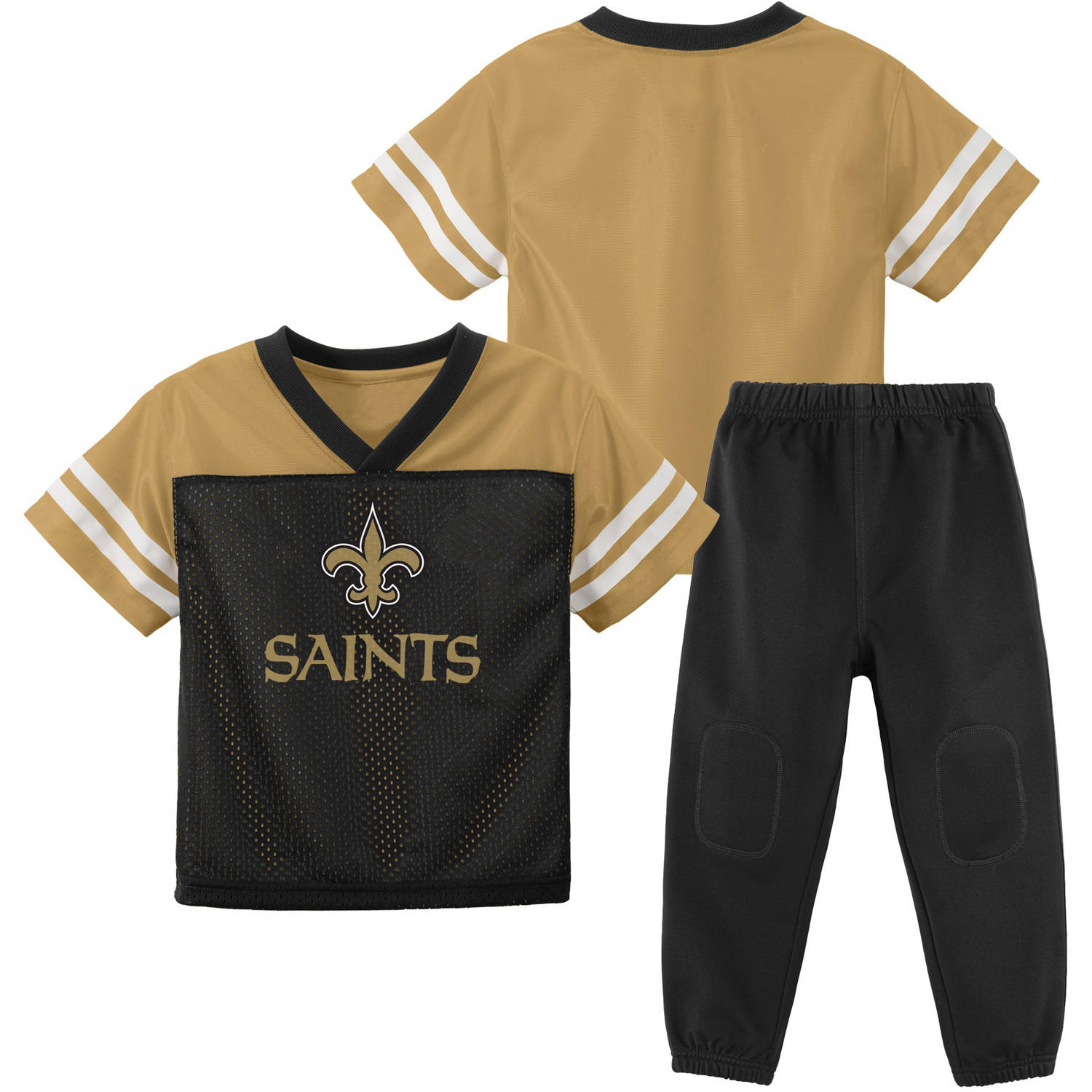 NFL New Orleans Saints Toddler Short Sleeve Top and Pant Set