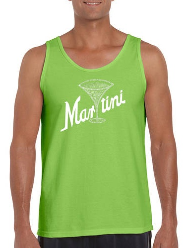 Big Men's Tank Top - Martini