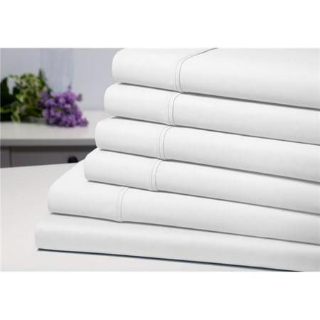 Bamboo Comfort 1300FLGR 6 Piece Solid Sheet Set, Grey - Full - image 1 de 1