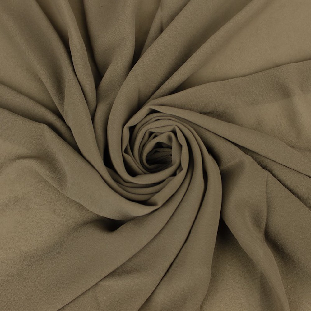 Off White Peach 58 Floral Printed Wool Peach Fabric by the Yard Style P-79-WOOL-PEACH