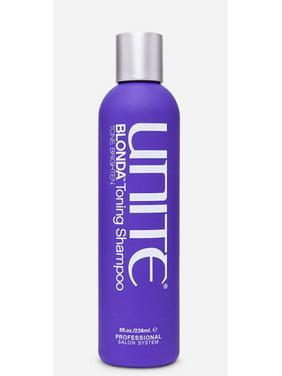 Unite Blonda Toning Purple Shampoo, 8 Oz