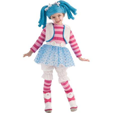 Girls Deluxe Mittens Fluff And Stuff Ragdoll Kids Halloween Costume Todd - Halloween Costumes For Kids Girls Cheerleader