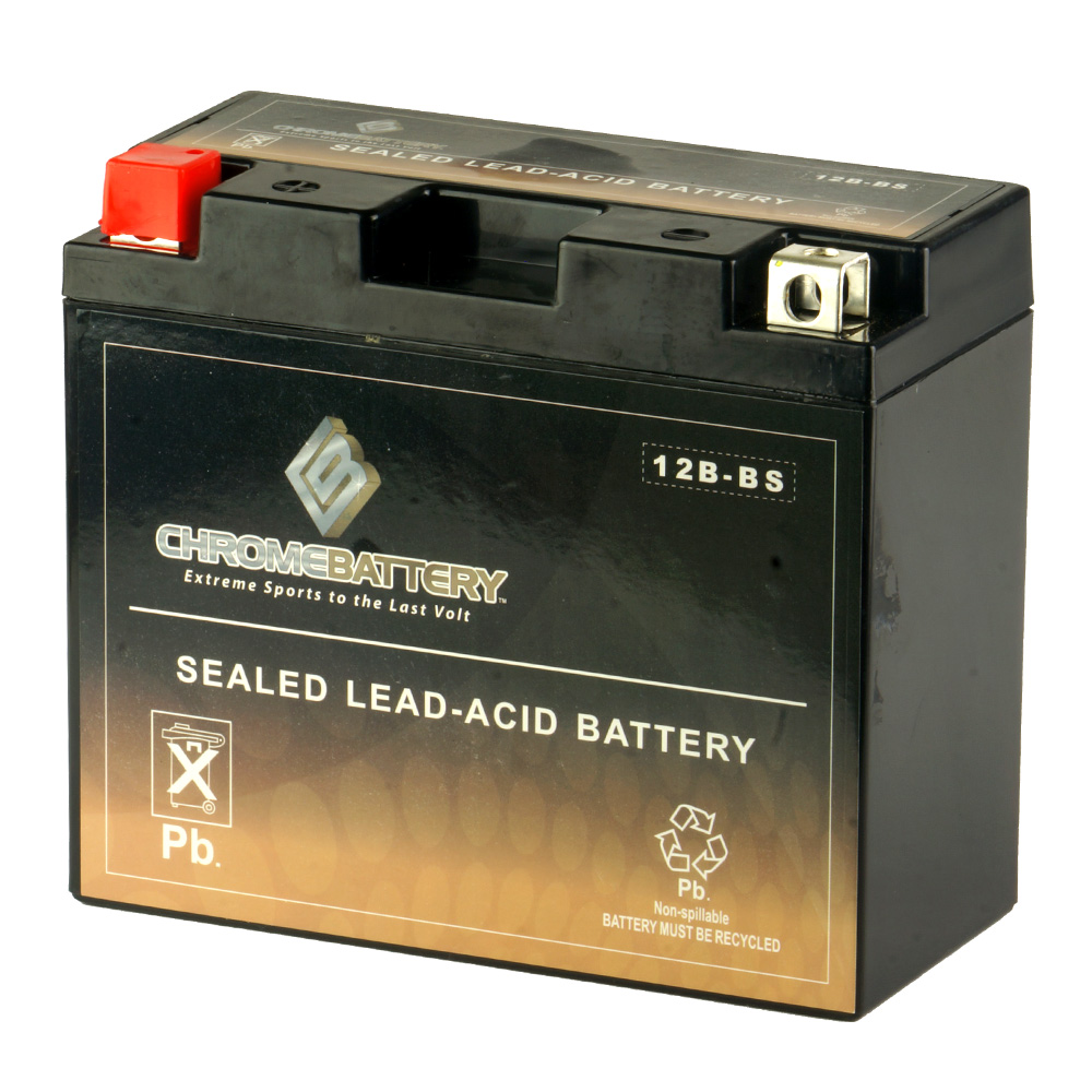 Motorcycle Battery for Yamaha XVS650 V-Star (All), Year (98-'16)