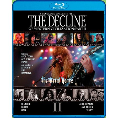 Universal Music Group The Decline Of Western Civilization Part Ii  The Metal Years  Blu Ray