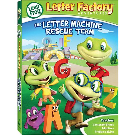leapfrog letter factory adventures the letter machine rescue team widescreen