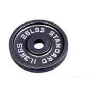 Troy Barbell BO-025 USA Sports Black Olympic Plate