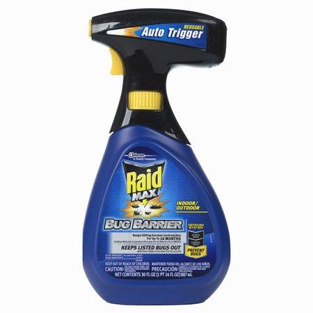 Raid Max Bug Barrier Trigger Starter Kit 30 Fluid Ounces