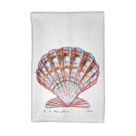 Betsy Drake KT112 Scallop Shell Kitchen Towel (Scallop Shell Dish)