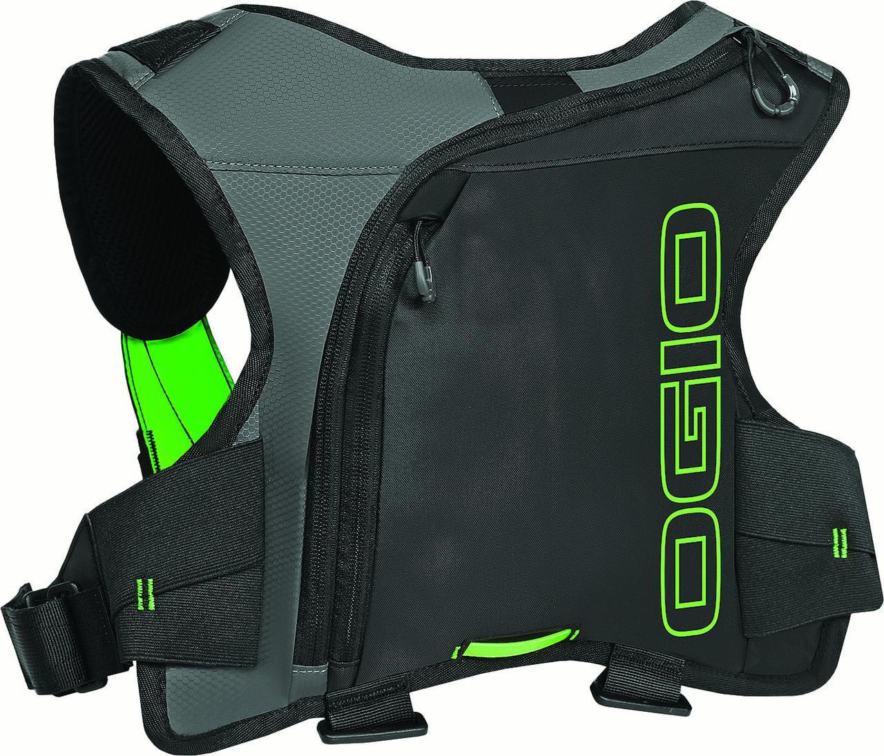 OGIO 122104.03 Ezrberg 1L Hydration Pack Black Hi-Vis Green by Ogio